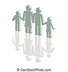 blue family icon