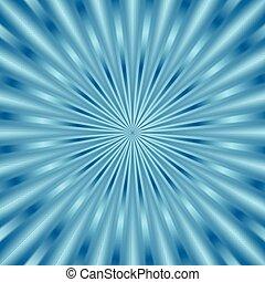 Blue glowing beams background