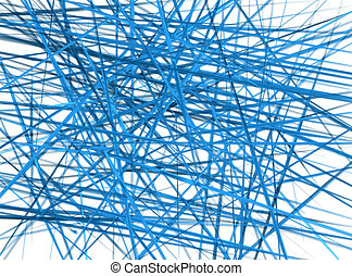 Blue web grunge