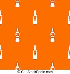 Bourbon pattern orange for any web design best