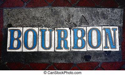 Bourbon Street tiles