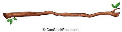 Illustration of a single branch