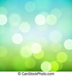 Bright blurred natural background, vector Eps10 illustration.