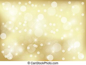 Bright golden dot background
