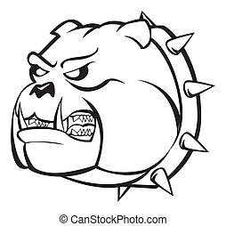 bulldog angry