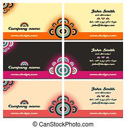 Business card set 47
