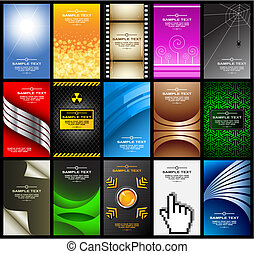 business cards (set 10)