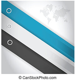 business color lines for customization info graphics. illustration design