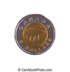 Canadian dollar, chocolate coins