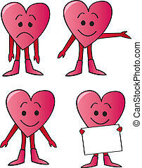 Cartoon Heart Guys