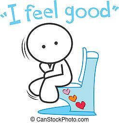 Be happy and better make you say I feel good au lal la