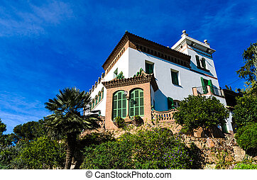 Casa Trias in Park Guell, Barcelona