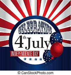 celebrating fourth july