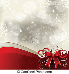 Christmas background with copy space. EPS 10 file, contains transparency effects in gradients.