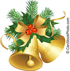 vector illustrations - christmas decor and symbols