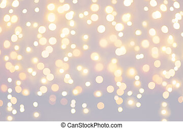 Christmas holidays light background