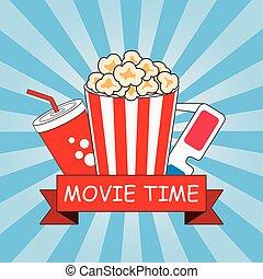 Cinema. Movie time.