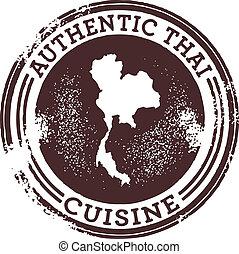 A stamp for Thai restaurants.