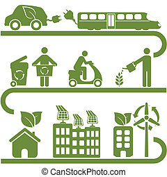 Clean energy and green environment