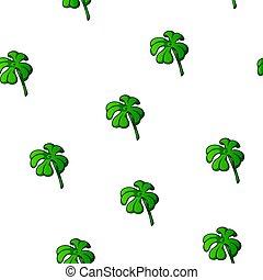 Clover pattern, quatrefoil, vector illustration