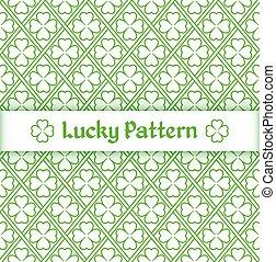 Clover pattern