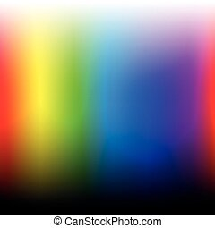 Color Spectrum Visible Light Square