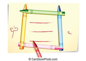 Colorful Crayon