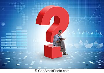 Concept of question and uncertainty