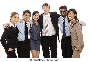 Confident Business Team 4