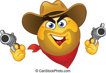 Cowboy emoticon