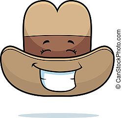 Cowboy Hat Smiling