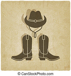 cowboy old background
