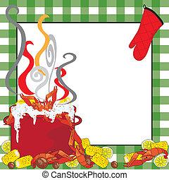 Crawfish Boil Invitation