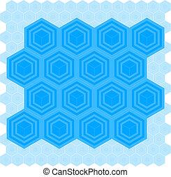Cube Pattern Tile