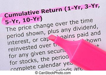 Cumulative Return (1-Yr, 3-Yr, 5-Yr, 10-Yr)