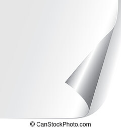 Curled Paper Corner (vector)
