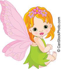 Cute baby Fairy
