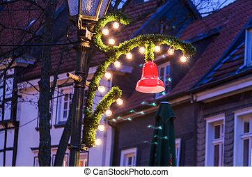Decoration, Christmas market,