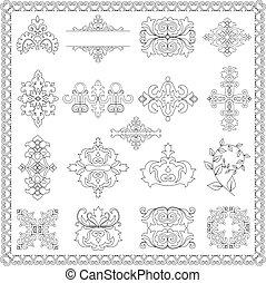 decorative design elements (line)