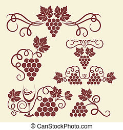 grape vine elements