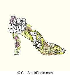 Decorative shoes