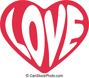 cute decorative heart for Valentine's day greeting card