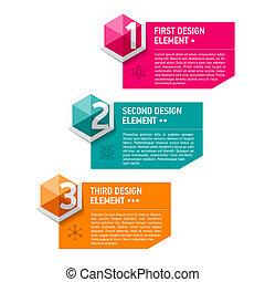 Design elements template