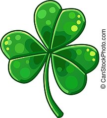 Lucky Clover isolated on white background