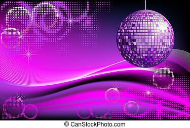 Disco-ball background