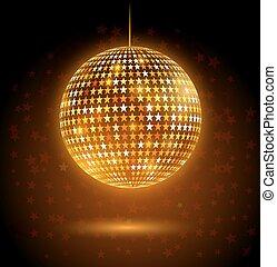Disco ball.