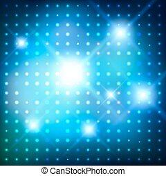 Disco lights. Vector background.