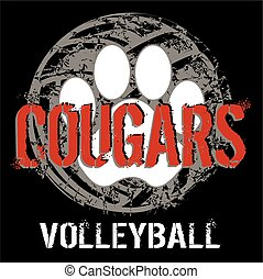 cougar volleyball