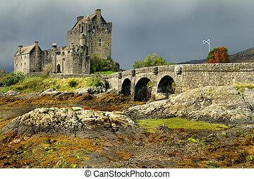 Eileen Donan Castle in Scotland West Highlands