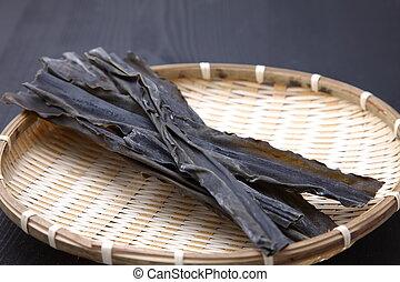 dried sea tangle